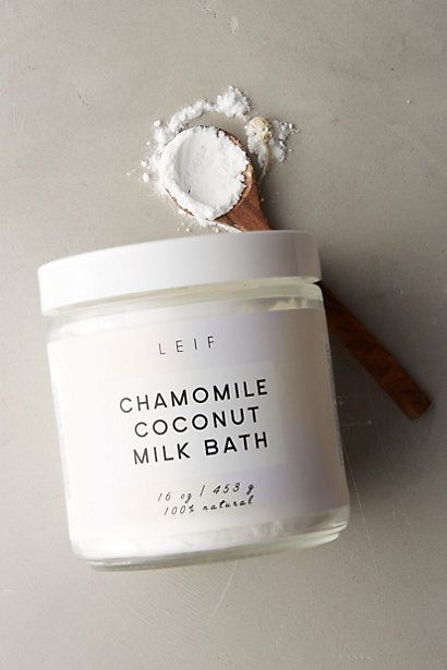 Leif Milk Bath #anthropologie