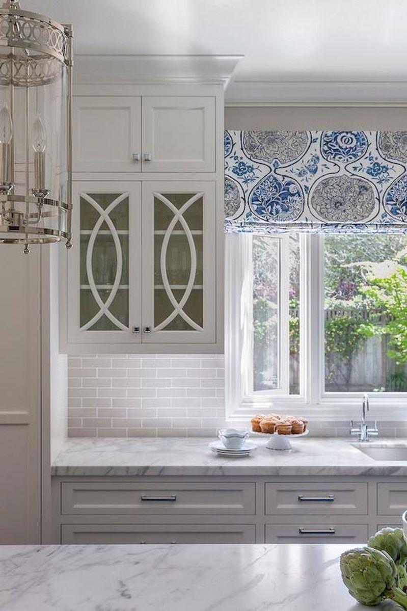 Gray Farmhouse Kitchen Cabinet Makeover Ideas (57 | Pinterest