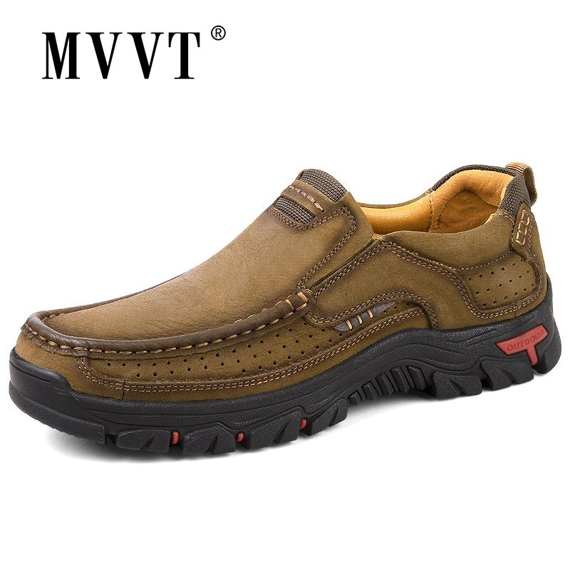 2019 Top quality mens shoes Casual leather shoes for men 100/% cow leather shoes