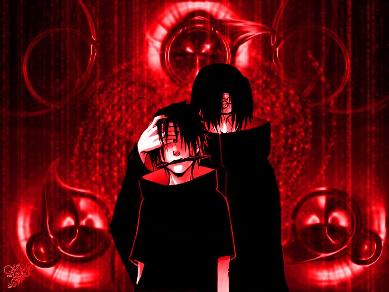 Red Screen Naruto Shippuden Anime HD Desktop PC Wallpapers Picture Wallpaper Pictures