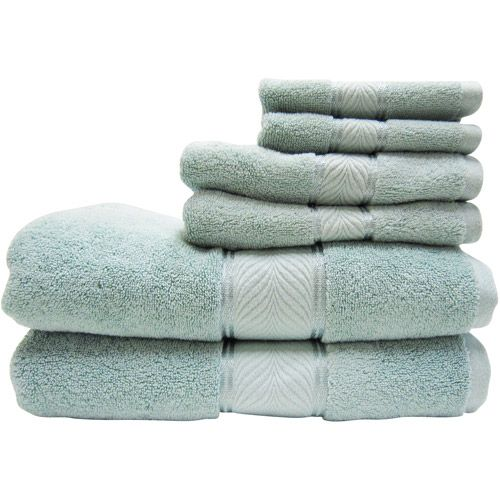 Better Homes And Gardens Thick And Plush 6 Piece Cotton Bath Towel Set    Walmart