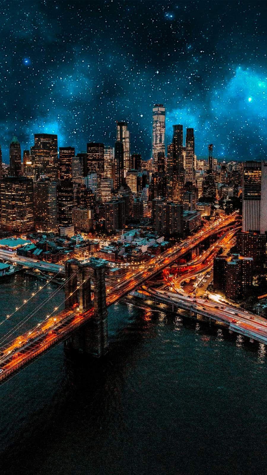 Iphone wallpaper city