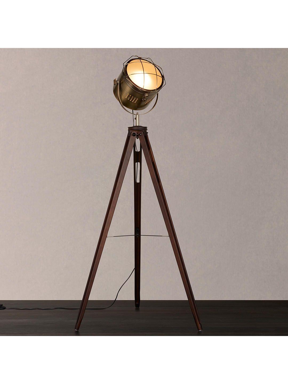 John Lewis & Partners Jules Wood Marine Head Floor Lamp