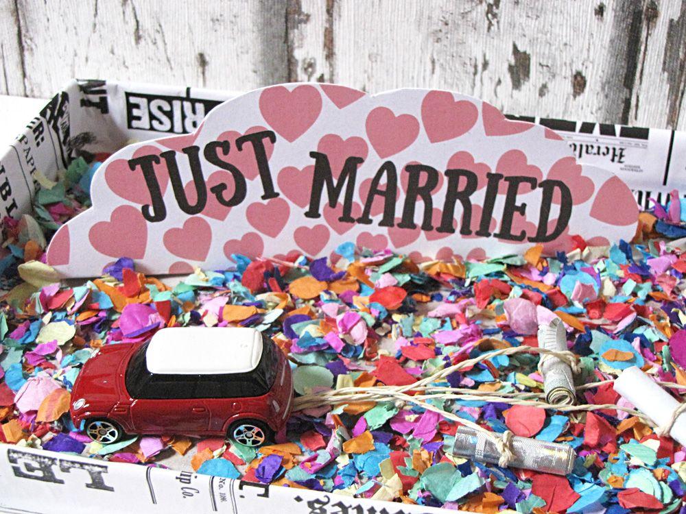 Idee 1: Geldgeschenke zur Hochzeit originell verpacken – Blechdosen ...