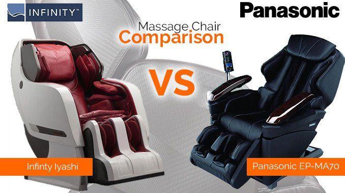 panasonic ep-ma70 real pro ultra vs. infinity iyashi massage