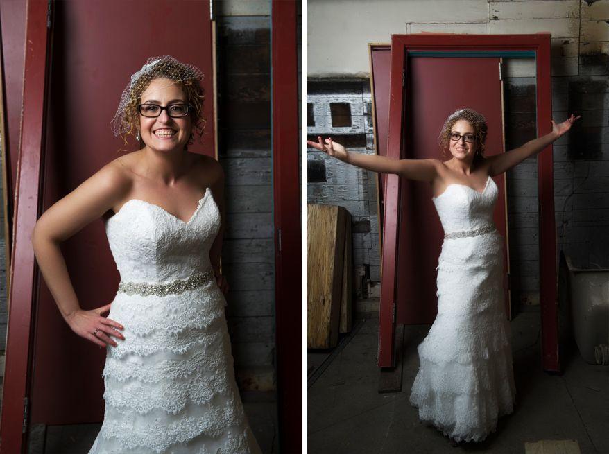 Anodyne Milwaukee Wedding Coffee Alternative Bridal Party Photos