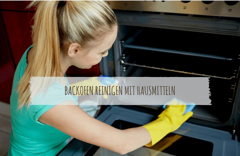 Backofen Reinigen Mit Backpulver, Natron & Anderen