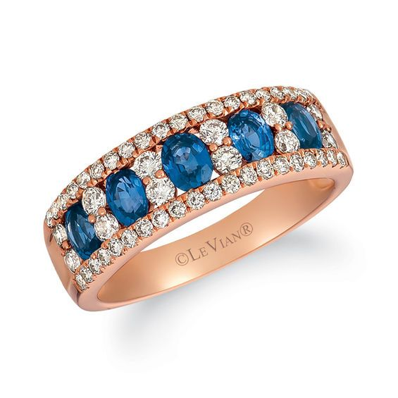 Le Vian Creme Brulee® Blueberry Sapphire (3/4 ct. t.w