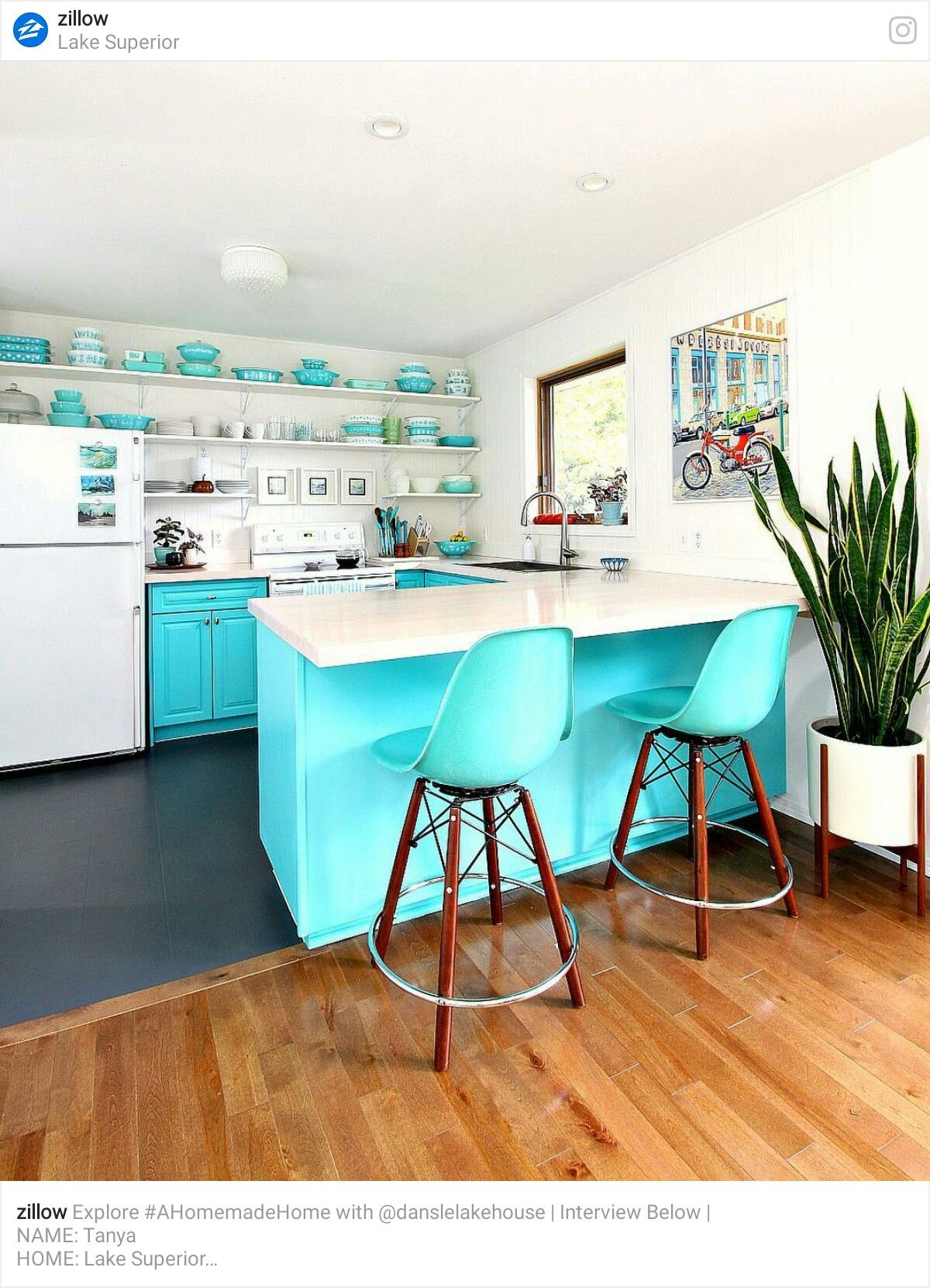 Pin by Yonnie Smith on Stylish Kitchens - The Vintage/Eclectic Look ...