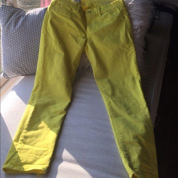 Gap mustard pants mustard GAP Pants Skinny