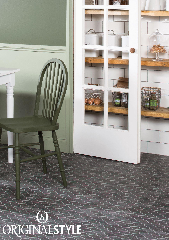 Hexagon Mosaic Tile Kitchen Floors Topsimages
