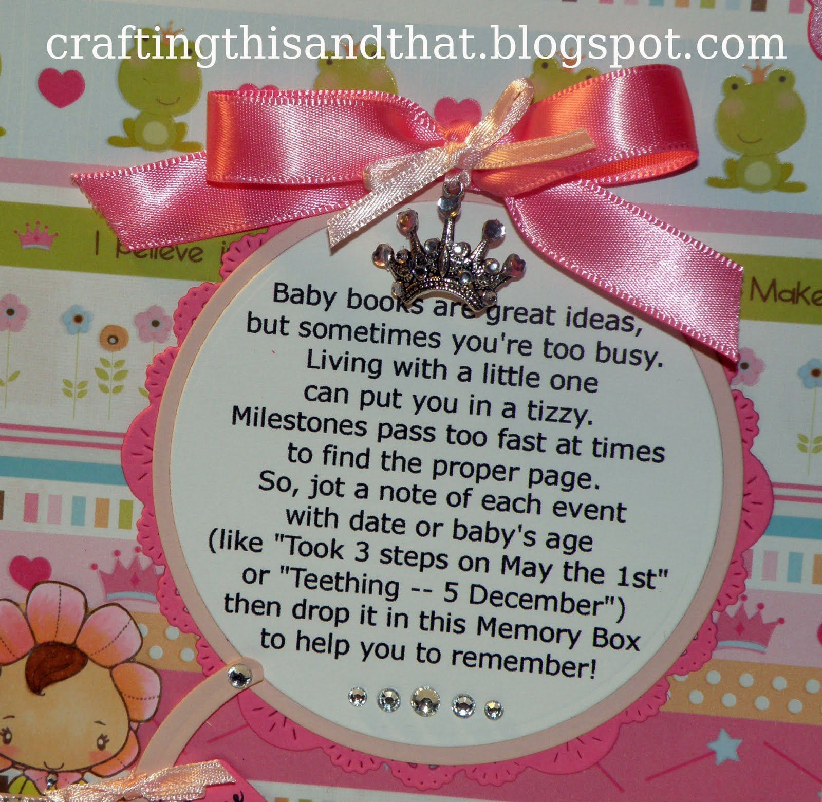 Beautiful Baby Memory Box Poem