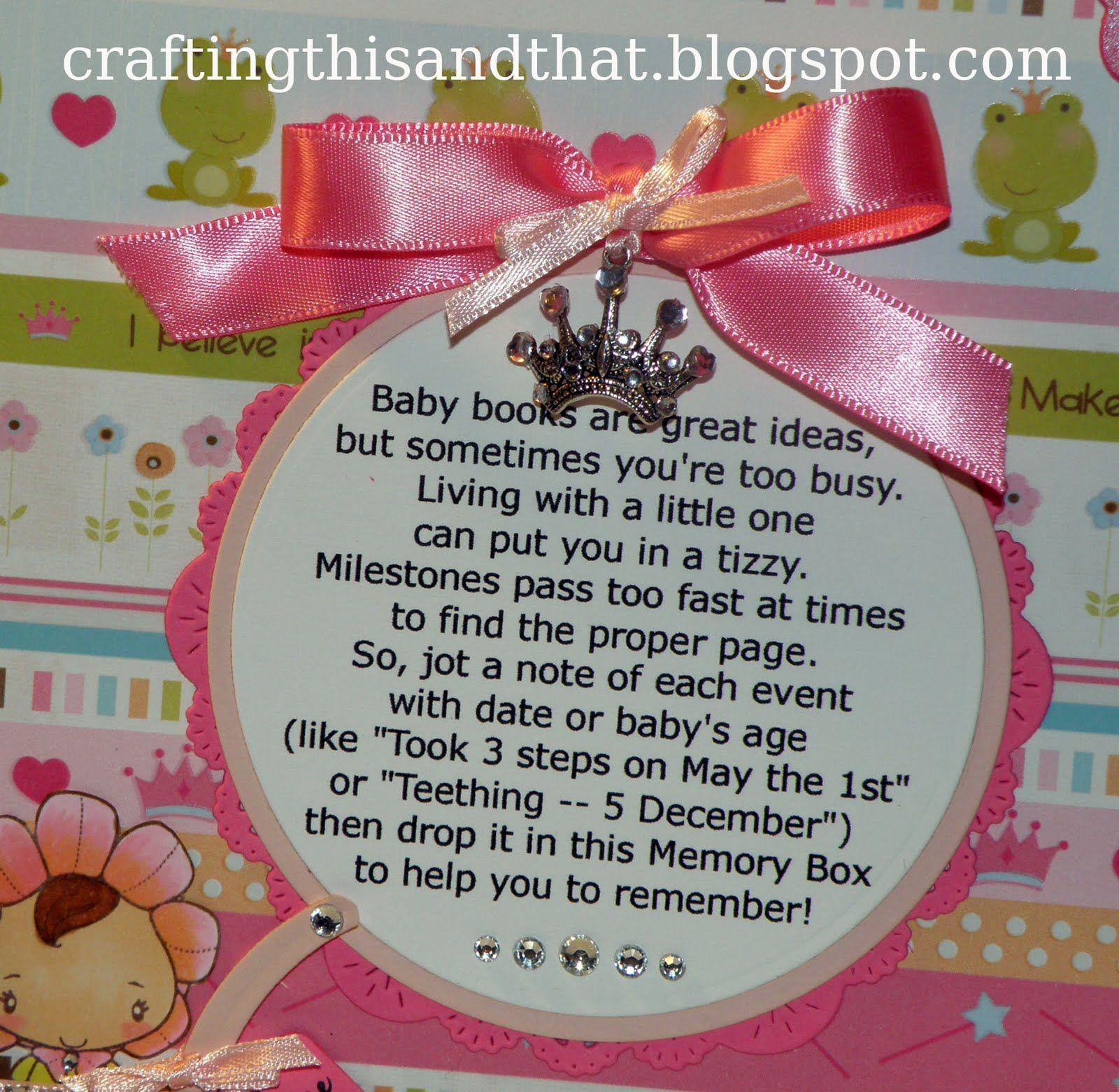 Baby Girls 1st Birthday Gift Keepsake Box With Teddy
