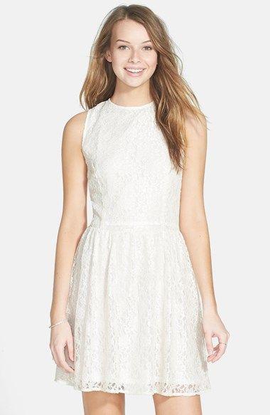 Nordstrom Junior Dresses White