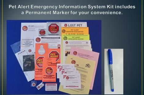 Love your pet - use the complete pet emergency info kit - much more then just a window sticker. Pet safety can save lives. be Pet Alert.