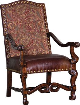 Mayo Furniture 1020LC Leather Chair - El Paso Saddle ...
