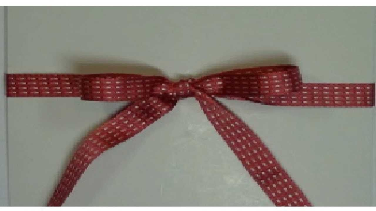 How to tie a bow and knot   DIY   Pinterest   Craft, Card making ...