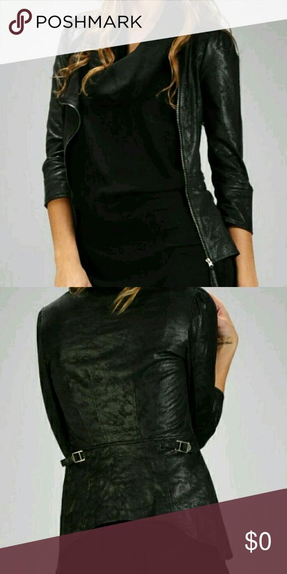 Flash Sale! Faux Leather Jacket Faux Leather Jacket. This
