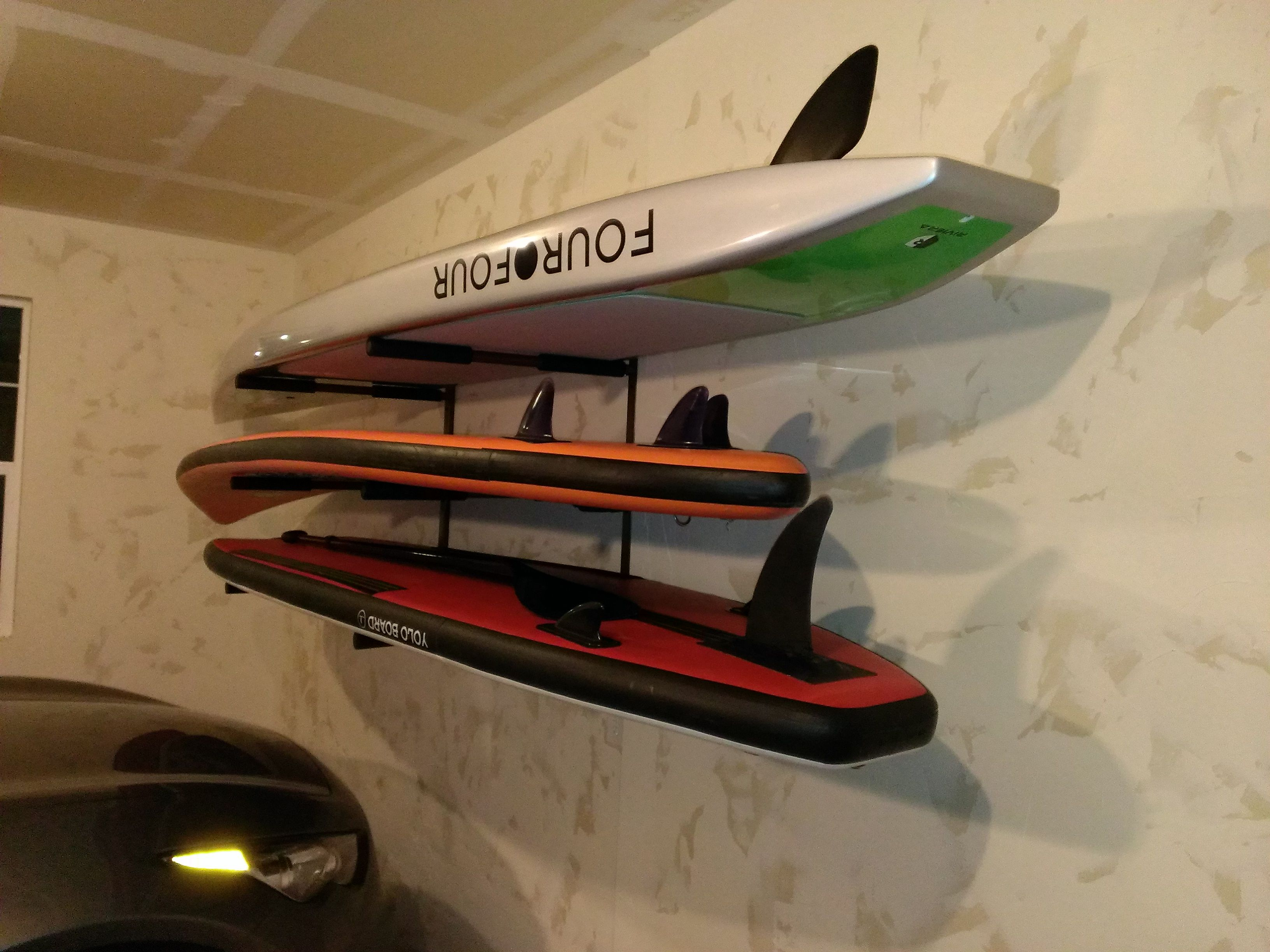 garage paddleboard storage rack #sup