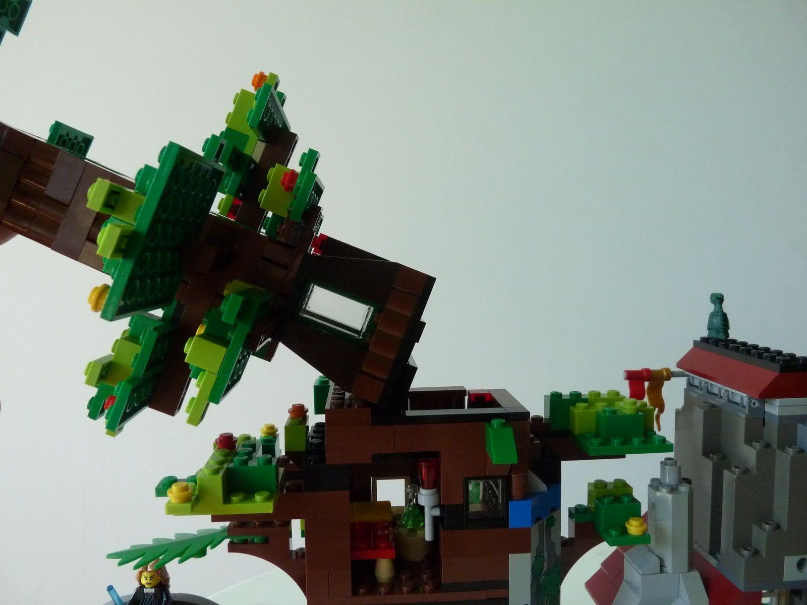 Com Post 16900733240 Ibrick Cherry Blossoms Lego Friends Tree House Lego Tree House Tree House Tree House Bedroom