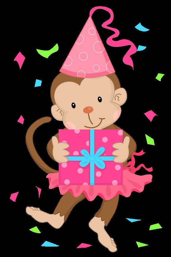 Рисунки моя, открытка с обезьянкой на день рождения