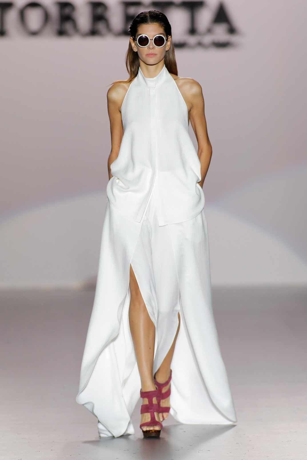 Mercedes Benz Fashion Week Madrid: Roberto Torretta Primavera-Verano 2017