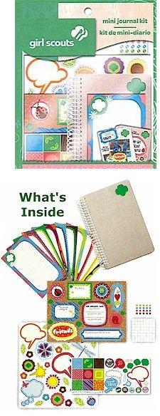 Girl Scout Mini Journal Kit