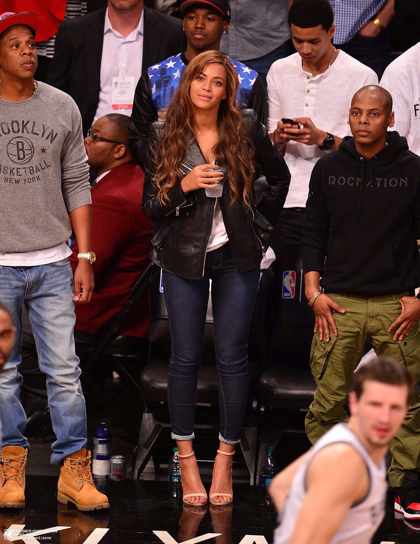 ccee07c92dc8 Beyoncé At Raptors   Brooklyn Nets Game 02.05.2014