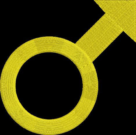 Male Symbol Machine Embroidery Design Male Gender Symbol Etsy Machine Embroidery Designs Machine Embroidery Embroidery Designs