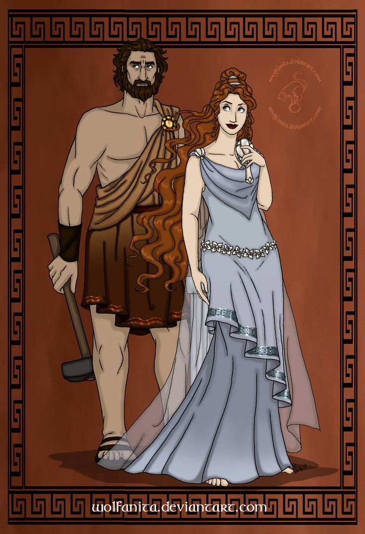 Current Relationship This Is My Husband Hephaestus He Is