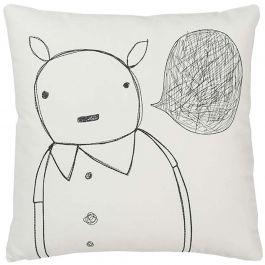k studio Strange Portrait Series - Animal Man Pillow at DesignPublic.com