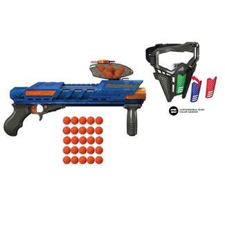 Dart Zone Ballistixops Mega Force Powerball Ball Blaster Battle Pack Combo In 2021 Powerball Coloring Markers Battle