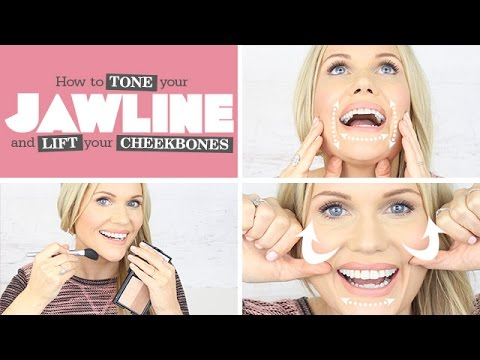 get defined cheekbones  jawline  youtube in 2020