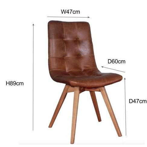 Sensational Allegro Leather Dining Chairs Pair Toms Place Chairs Cjindustries Chair Design For Home Cjindustriesco