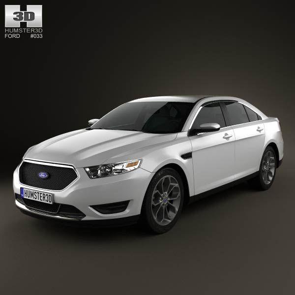Ford Taurus Sho 2013: Ford Taurus SHO 2013 3d Model From Humster3d.com. Price