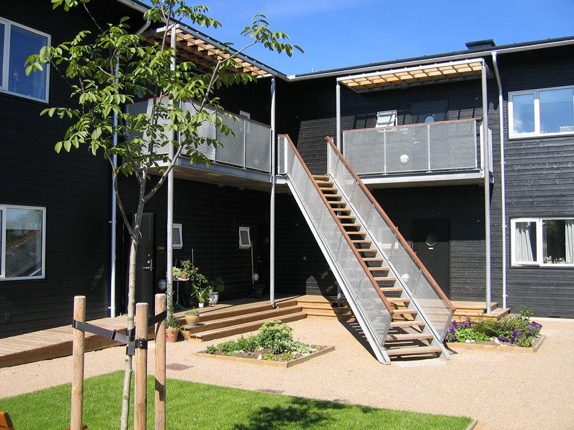 Edifico de apartamentos en Dinamarca. Boklok