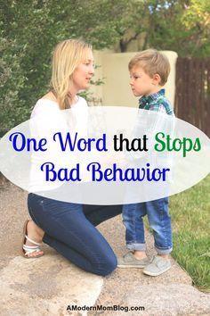 The Magic Parenting Word