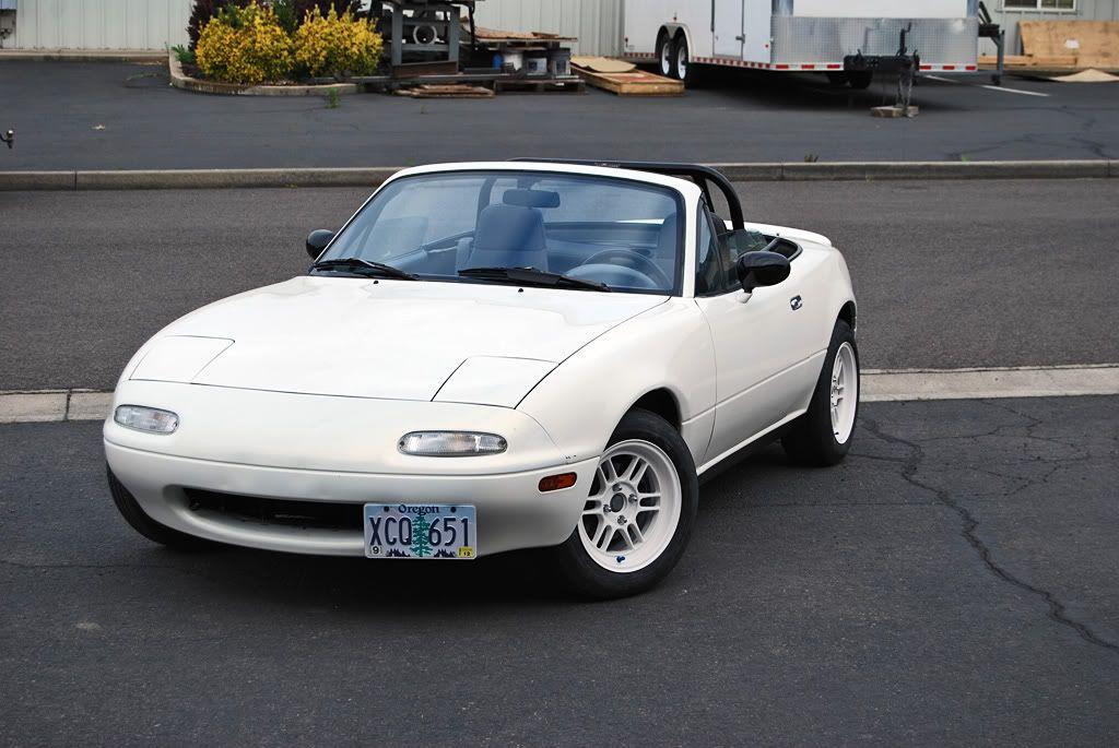 Jaredef S White Roadster Mazda Mx5 Miata Mazda Miata Miata