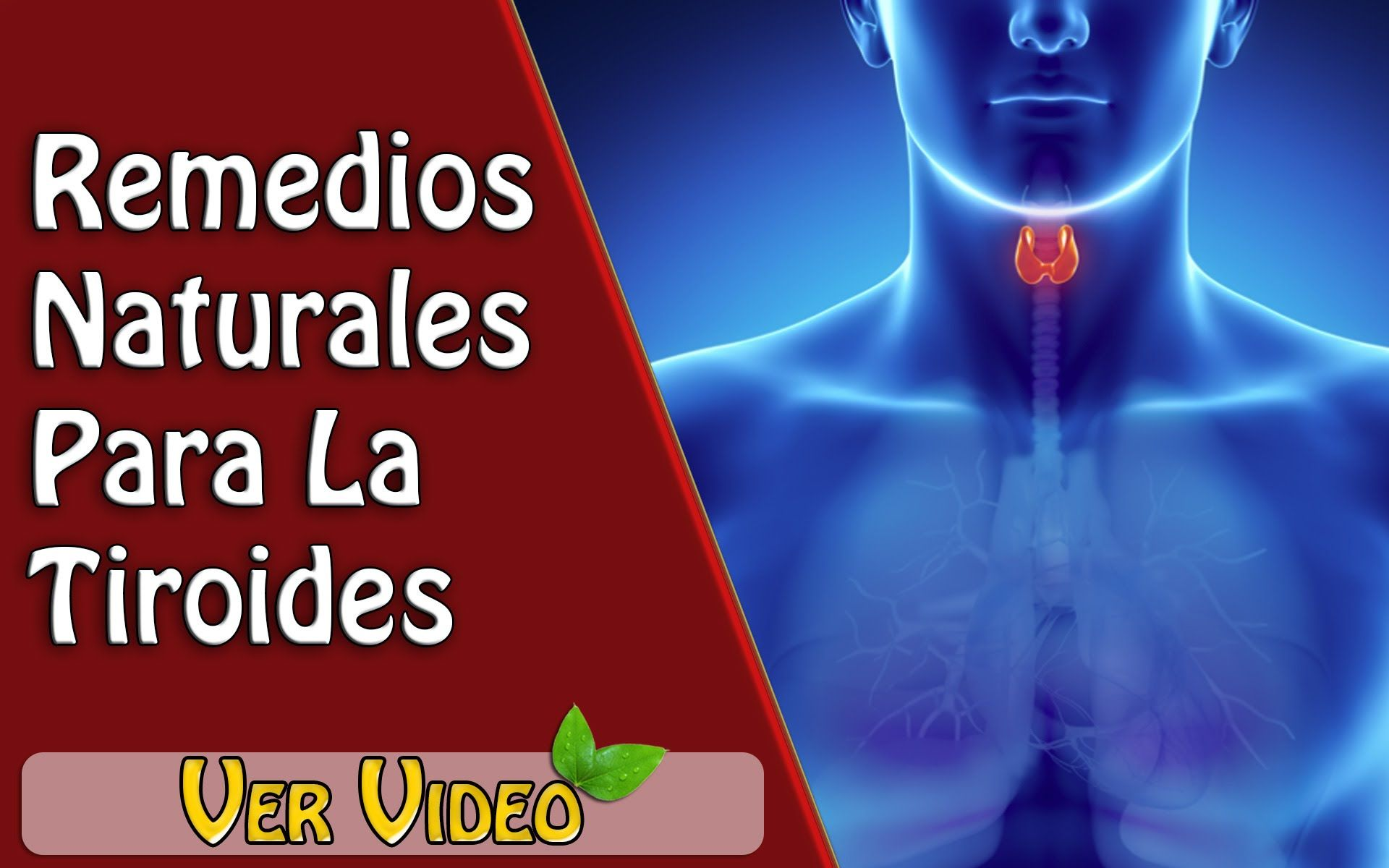Remedios caseros para quitar el hipotiroidismo