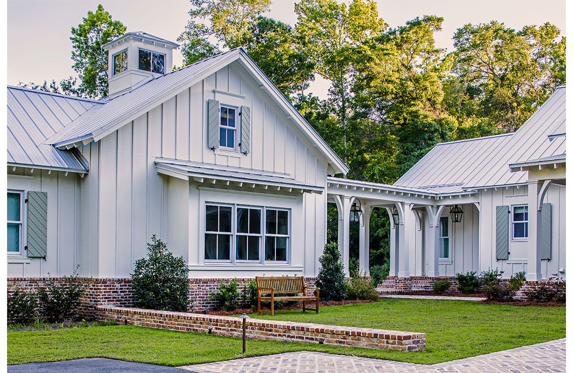 Bobbin Brook By C Brandon Ingram Design Southern Living Cedar River Farmhouse Plan Modern Farmhouse Exterior Southern Cottage Farmhouse Plans
