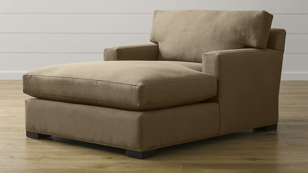 Double Chaise Lounge Indoor With Arms