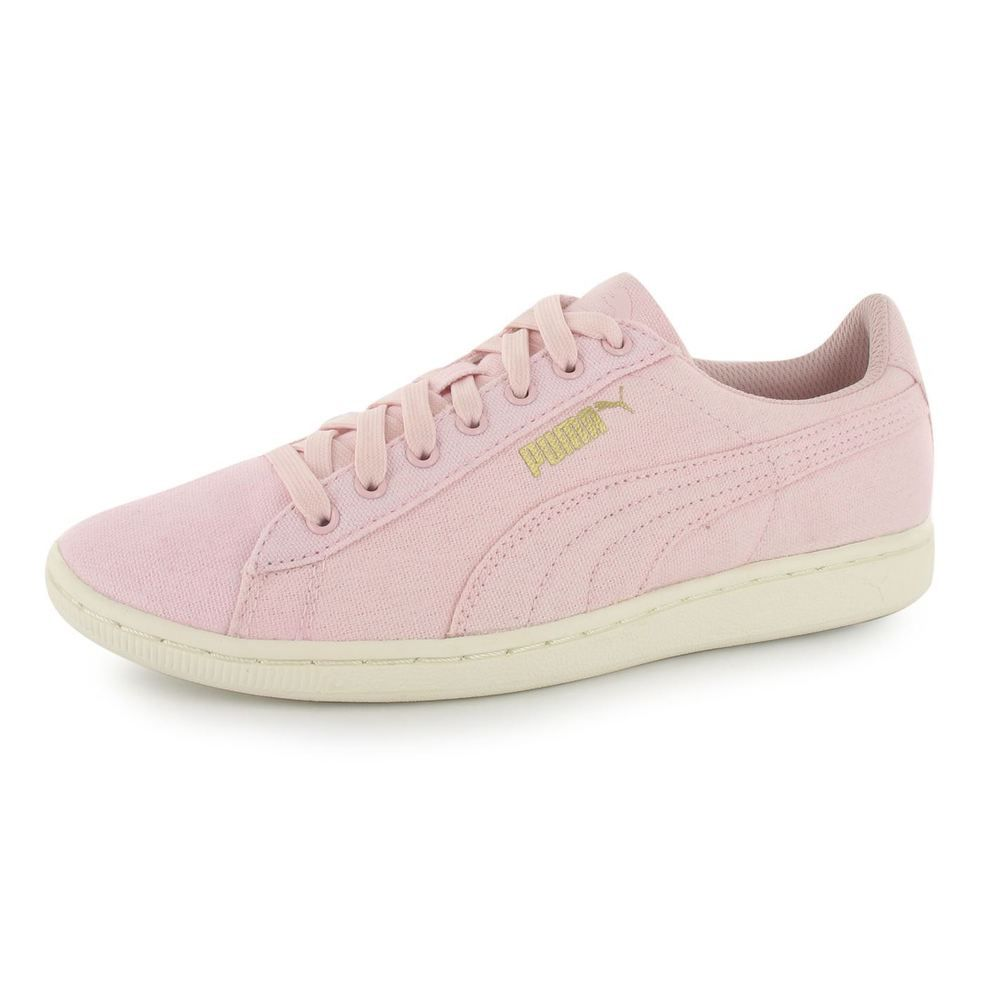 puma damen vikky sneakers rosa