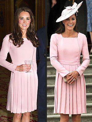 b9c3c24b94d36a Kate Wears the Same Dress Twice in 11 Days | starstruck | Kate ...