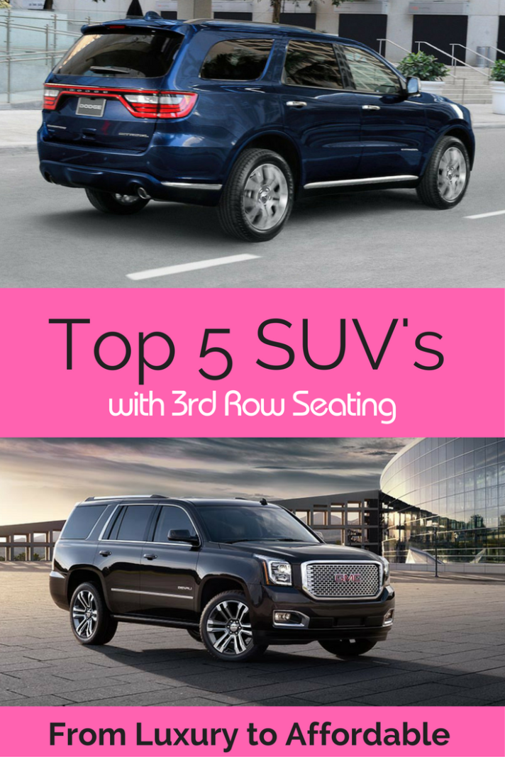 Vehicles With 3rd Row Seating >> From Luxe To Affordable 8 Of The Best 3 Row Suvs 3rd Row