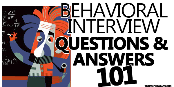 behavioral interview questions answers pdf