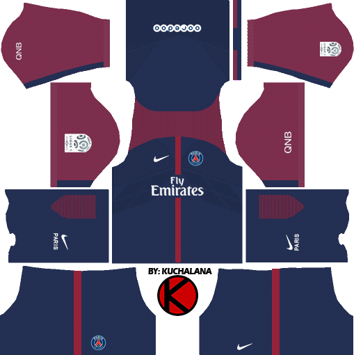 dream league soccer PSG kits with logo and url | Dream Leauge Soccer