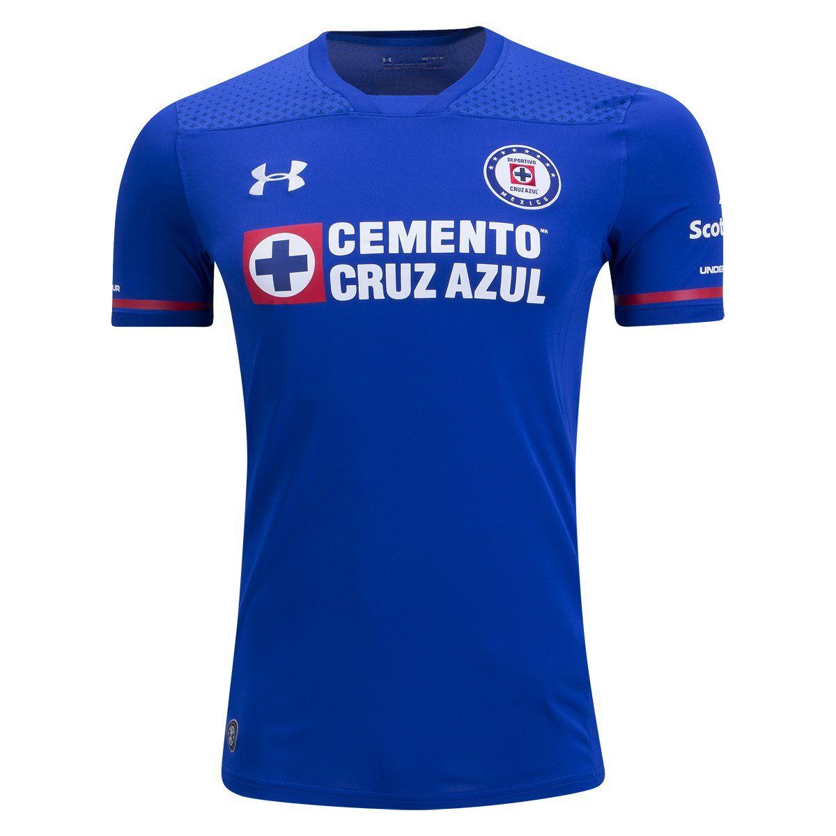 67aa64363 Under Armour Cruz Azul Home Jersey 17 18 I ve got it 😍💙