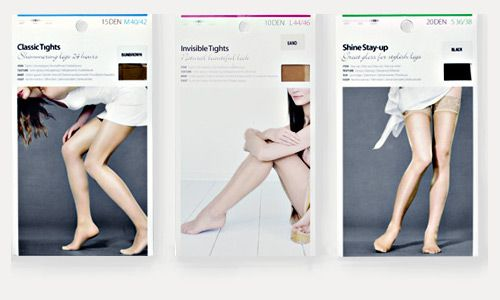 Womens tights packaging - Google Search | GARAGE | Pinterest