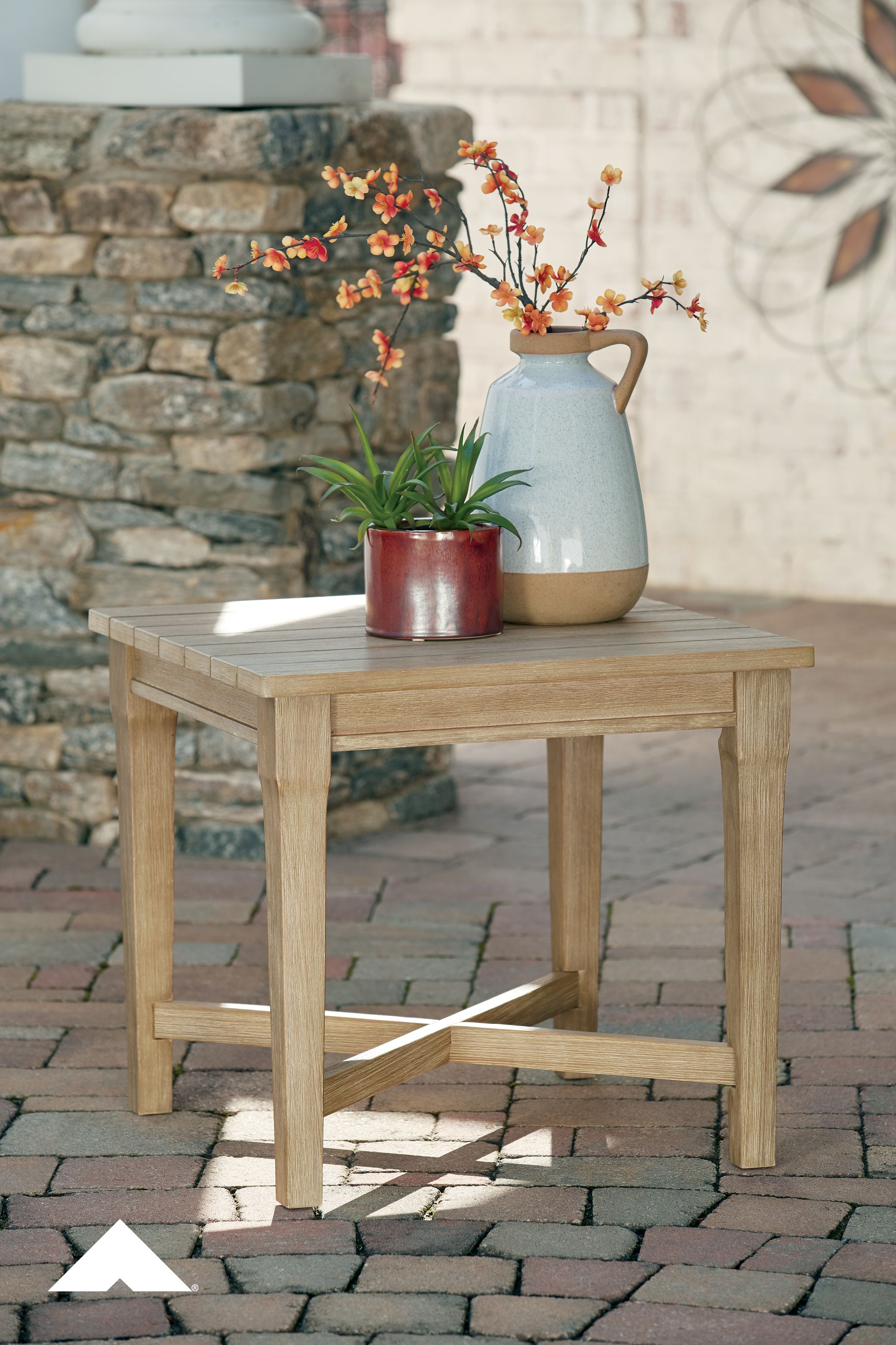 Clare View Square End Table By Ashley Furniture An Effortlessly