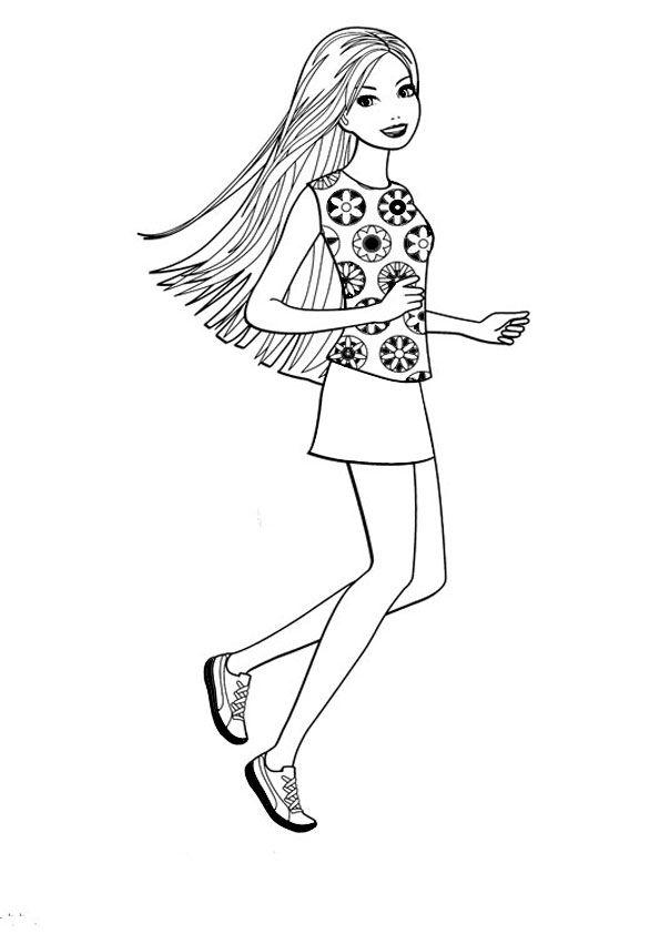 barbie82  Раскраски Барби